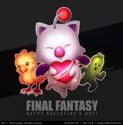 Final Fantasy- Moogle & Friends 2013