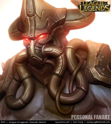 League of Legends Kassadin 2013